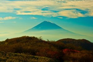 Mt. Fuji by shod