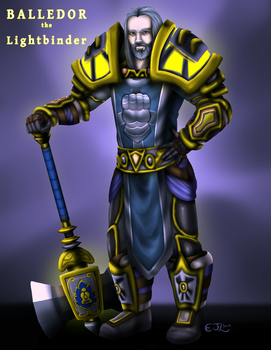 Commission - Balledor the Lightbinder by EjLowell