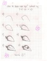 Winx eye tutorial by TetsunoKobushi