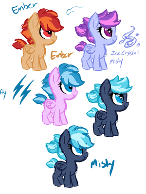 Rainbowdaughters by Lopoddity