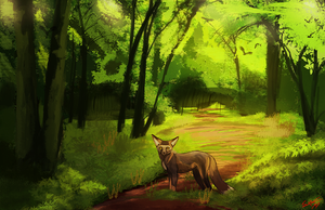 Summer Greens by BlindCoyote