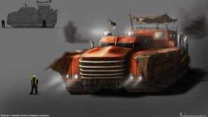 Industrial Vehicle: Concept by xynode
