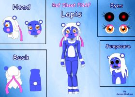 Fan Toy Animatronic: Lapis by FairyAurora
