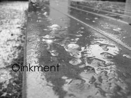 The Snow melts from the Patio by Oinkment