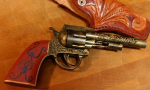 Custom Western Capgun by JohnsonArms
