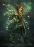 The Green Fairy by yidneth