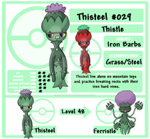 PKMN 029 Thisteel by spiderliing666