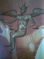 Wall painting in church 3 by HippieCase