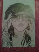 Drawing: Kat Von D by Nimiea