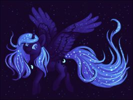 Princess Luna by Dany-the-Hell-Fox