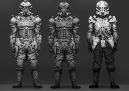 ARmOR concepts by Fatmarco