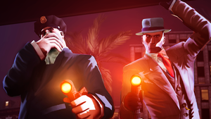 La Noire in TF2 style. by RussianBear2345