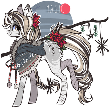 AUCTION : Winter Pony (closed) by D-Dyee