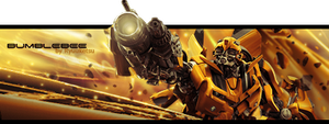Bumblebee Pop Out Signature by RyuuketsuEG