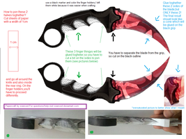 CSGO Karambit Slaughter Template Tutorial by svanced