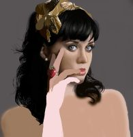 katy perry WIP by aluc23