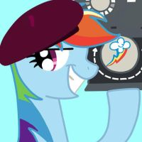 Rainbow dash is Olderika by Stormclad