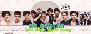 Portada Live While We're Young by YuriDementors