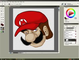 Mario Gets Real WIP - UPDATE 1 by Eques-Ardor