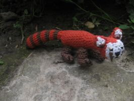 crochet Pabu of Legend of Korra by Twinsmanns