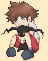 Kid Sora by squeeglylines