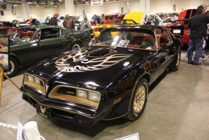 Black N' Gold Trans Am by KyleAndTheClassics