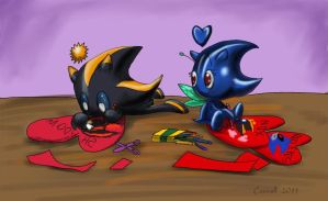 Chao valentine by NetRaptor