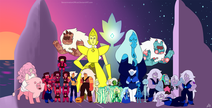 Steven Universe Gems by BananimationOfficial
