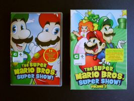 The Super Mario Bros. Super Show DVD Sets by shnoogums5060