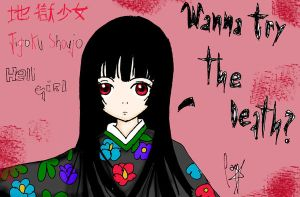 Jigoku_Shoujo_Hell girl by Haoiki
