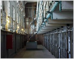 Peace of empty Prison by mixal