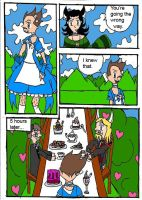 Avengers In Wonderland Page 6 by flametheskull