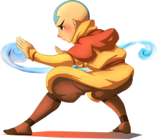 Aang the Last Airbender by MatsuoAmon