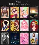 Summary of Art 2015 by Anolee