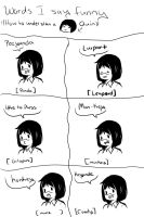 How i talk behold english by GingerQuin