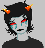 Don't cry Terezi baby by CarlaLax