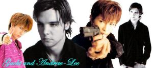 Gackt and Andrew-Lee Potts by white-wolf27
