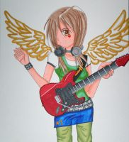 Rocker Angel by PunkIn-Kitty