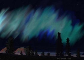 Northern Lights by bolsterstone