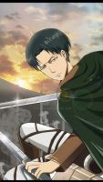 Attack on titan ---Levi by italy0325
