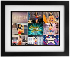 Lynda Carter Wonder Woman Animated by Des Taylor by DESPOP