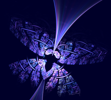 Blue-Butterfly-AWC-16-Sierpinsky-Gasket (My-Way) by marthig