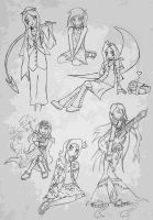 Old Drawings Collection by hooksnfangs