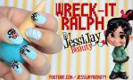 Wreck it ralph nails by JessicaOssa