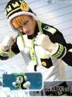 DEMOLITION set! Noiz Cosplay DMmD by WiredintoSpace
