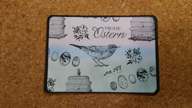 Eastercard Frohe Ostern by yosimite