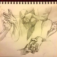 Hand studies III by Acousticletters