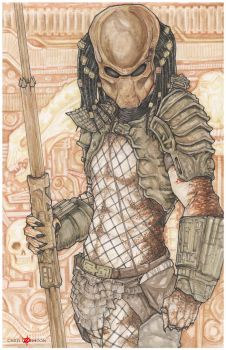Predator 2 City Hunter Yautja by ChrisOzFulton