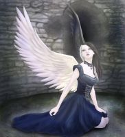 The Light Dark Angel by ZellyKat