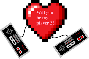 Will you be my player 2? by obot101
